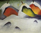 Stooks in the Snow 1911 - Franz Marc