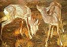 Deer at Dusk - Franz Marc