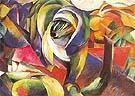Der Mandrill 1913 - Franz Marc