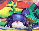 The Little Blue Horses 1912 - Franz Marc