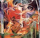 Deer in the Forest I - Franz Marc
