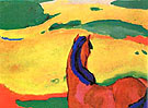 Horse in the Country - Franz Marc