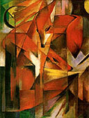 Foxes 1913 - Franz Marc