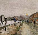 Charles River and Beacon Hill 1892 - Childe Hassam