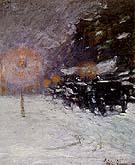 Winter Midnight 1894 - Childe Hassam
