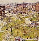 Union Square in Spring 1896 - Childe Hassam