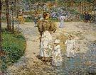 Spring in Central Park Springtime 1898 - Childe Hassam