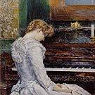 The Sonata 1893 - Childe Hassam