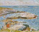 Bathing Pool Appledore 1907 - Childe Hassam