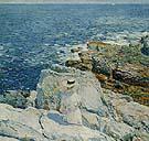 The South Ledges Appledore 1913 - Childe Hassam