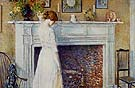 In the Old House 1914 - Childe Hassam
