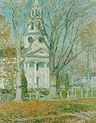 Church at Old Lyme 1903 - Childe Hassam