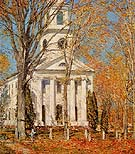 Church at Old Lyme 1905 - Childe Hassam