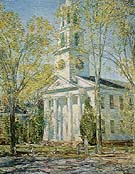 Church at Old Lyme 1906 - Childe Hassam