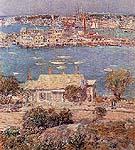 Gloucester Harbor 1 1899 - Childe Hassam