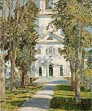 The Church at Gloucester 1918 - Childe Hassam