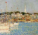 Cat Boats Newport 1901 - Childe Hassam