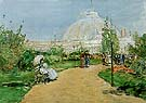Horticulture Building Worlds Columbian Exposition Chicago 1893 - Childe Hassam