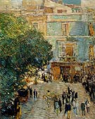 Square at Sevilla 1910 - Childe Hassam
