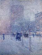 Late Afternoon New York Winter 1900 - Childe Hassam