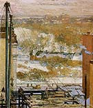 The Hovel and the Skyscraper 1904 - Childe Hassam