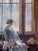 The New York Window - Childe Hassam