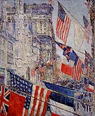 Allies Day 1917 - Childe Hassam