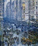 Fifth Avenue 1919 - Childe Hassam