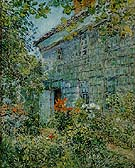 Old House and Garden East Hampton 1898 - Childe Hassam