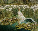 Lilies 1910 - Childe Hassam
