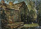 Little Old Cottage Egypt Lane East Hampton 1917 - Childe Hassam