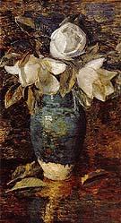 Giant Magnolias - Childe Hassam