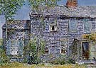 East Hampton Old Mumford House 1919 - Childe Hassam