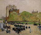 Spring Morning in the Heart of the City 1890 - Childe Hassam