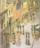 St Patricks Day 1919 - Childe Hassam