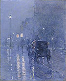 Evening in New York c1890 - Childe Hassam