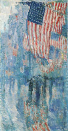 Avenue in the Rain 1917 - Childe Hassam