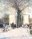Washington Arch Spring 1893 - Childe Hassam