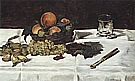 Fruit on a Table 1864 - Edouard Manet
