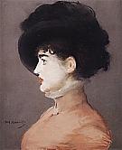 Manet La Viennoise Portrait of Irma Brunner 1882 - Edouard Manet