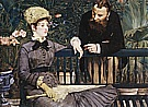 In the Conservatory 1879 - Edouard Manet
