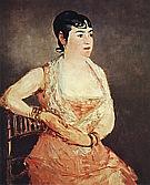 Jeanne Martin in Pink Dress 1881 - Edouard Manet