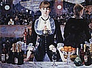 A Bar at the Folies Bergere c1881 - Edouard Manet