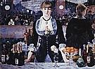 A Bar at the Folies Bergere c1881 - Edouard Manet