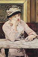 The Plum 1877 - Edouard Manet