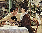 Couple at Pere Lathuille 1879 - Edouard Manet