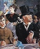 Cafe Concert 1878 - Edouard Manet