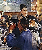 Corner in a Cafe Concert c1878 - Edouard Manet