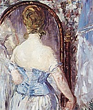 Before the Mirror 1876 - Edouard Manet