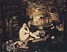 Le Dejeuner sur Lherbe Luncheon on the Grass 1863 - Edouard Manet